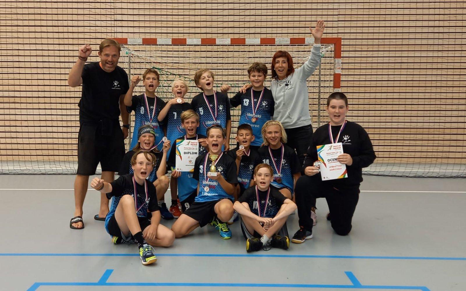 Mladší žáci vybojovali bronzové medaile na turnaji v Kuřimi