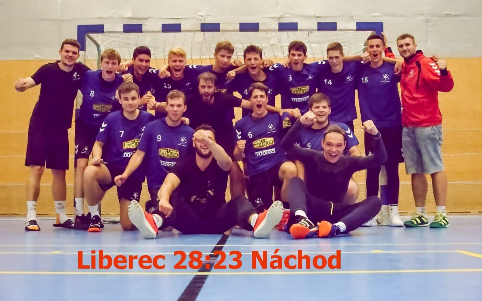 Muži zvládli 2. kolo českého poháru proti prvoligovému Náchodu